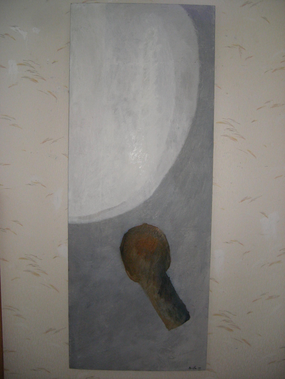 Konstnär Britta Gustafsson från Sottunga